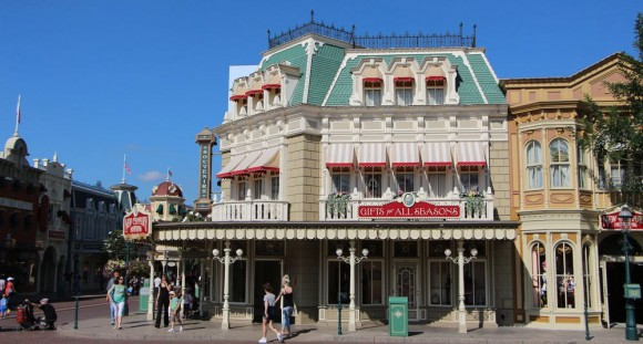 Main Street, U.S.A. in Disneyland Paris