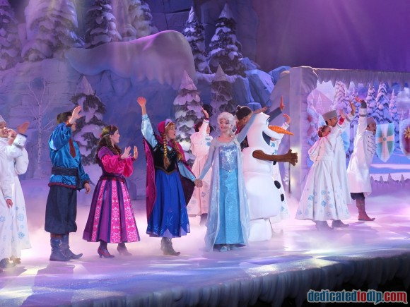 Disneyland Paris Frozen Summer Fun Review: Frozen Sing-along Show