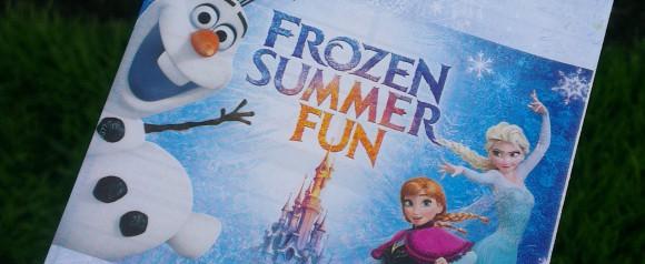 Disneyland Paris Frozen Summer Fun Season Review - Disneyland Park Programme