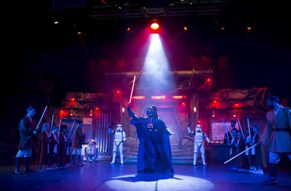 Star Wars Jedi Training Academy in Disneyland Paris