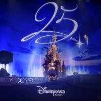Disneyland Paris 25th Anniversary Logo