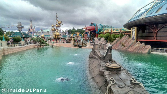 Discoveryland After Refurbishments in Disneyland Paris