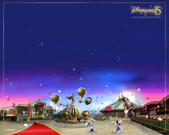 Disneyland Paris 15th Anniversary Desktop Wallpaper