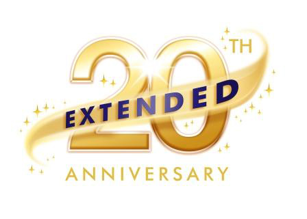 Disneyland Paris 20th Anniversary Extended Logo