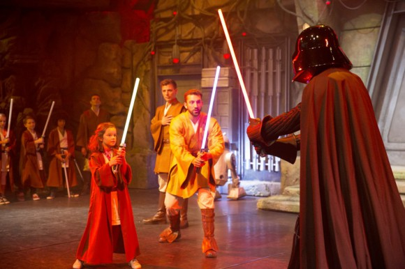 Star Wars Jedi Training Academy in Disneyland Paris