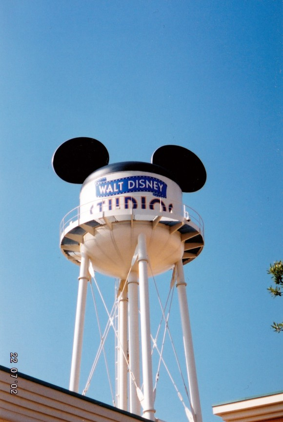 My First Photo of Earffel Tower in Disneyland Paris