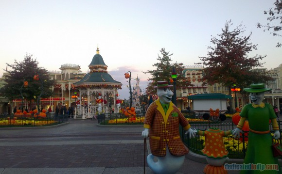 Disneyland Paris Diary: Halloween 2015 – Day 3 - Main Street, U.S.A.