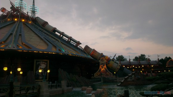 Disneyland Paris Diary: Halloween 2015 – Day 4 - Discoveryland