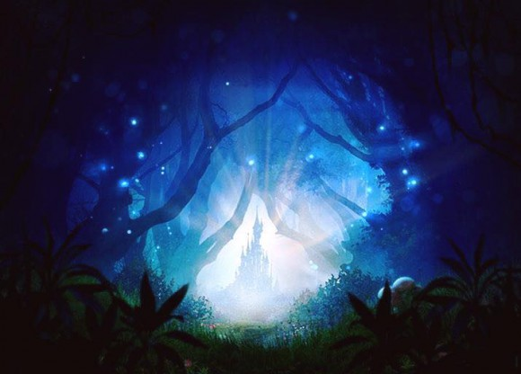 New artwork for The Forest of Enchantment a Disney musical adventure in Disneyland Paris