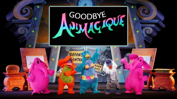Farewell Animagique, we'll miss seeing you in Disneyland Paris