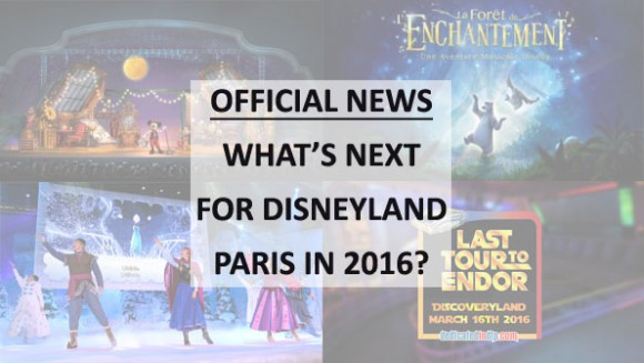 Disneyland Paris News: Mickey and the Magician to replace Animagique, Star Tours last ride March 16th & more