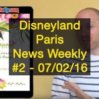 Disneyland Paris News Weekly #2: Huge Spring Season Update
