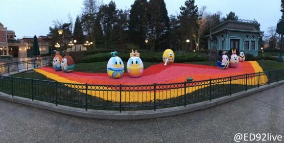 Spring Eggs in Disneyland Paris