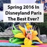 Disneyland Paris Spring 2016 decorations - are they best yet?