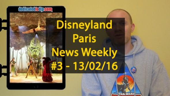 Disneyland Paris News Weekly #3: runDisney, Merida, New Show, Spring & More!