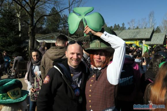 Fun with Leprechauns in Disneyland Paris