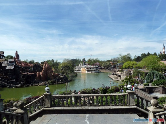 Big Thunder Mountain & Rivers of the Far West in Disneyland Paris