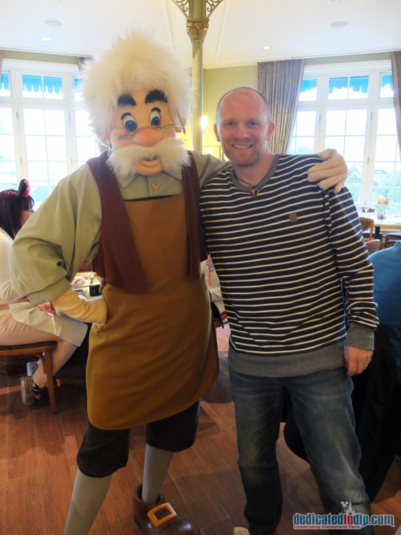 Disneyland Paris Restaurant Review: Inventions - Gepetto