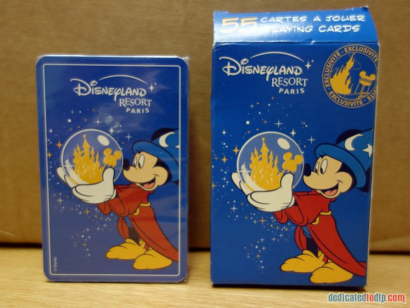 Disneyland Paris Magical Memorabilia: Playing Cards