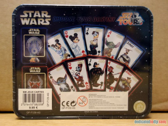 Disneyland Paris Magical Memorabilia: Star Tours Playing Cards