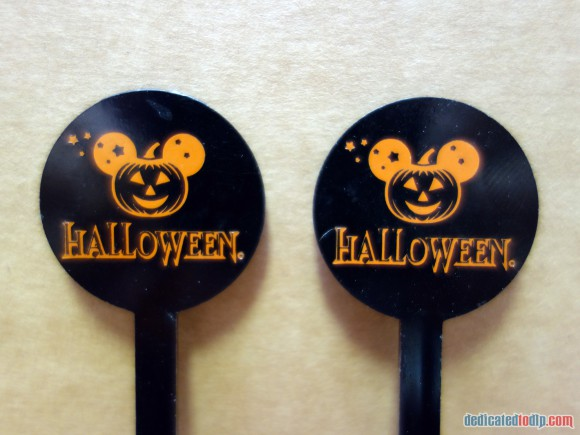 Disneyland Paris Magical Memorabilia: Halloween Cocktail Stirrers