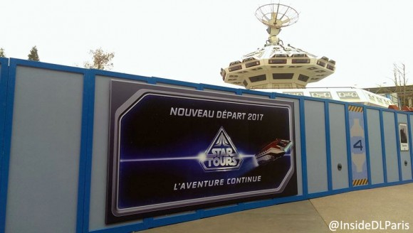 Star Tours: The Adventure Continues in Disneyland Paris