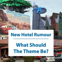 Disneyland Paris Rumour: A on site new hotel coming - what should the theme be?