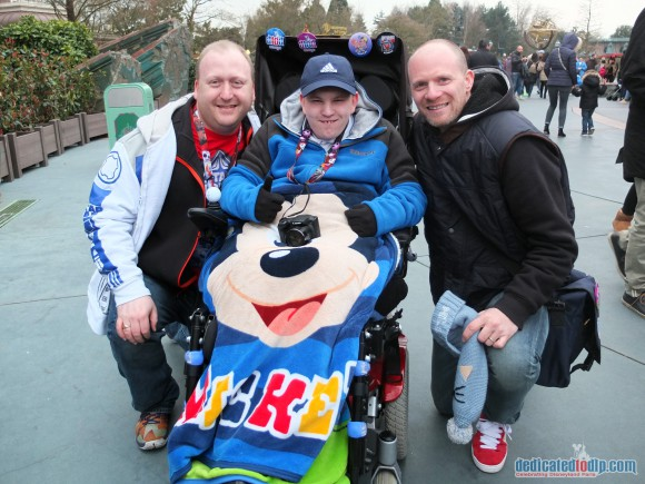 Meeting a very special new friend in Disneyland Paris