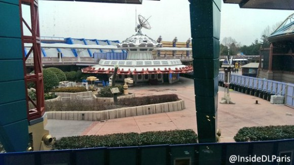 X-Wing Removed from Star Tours in Disneyland Paris