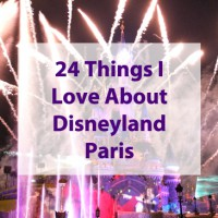 Happy 24th Birthday Disneyland Paris - 24 Things I love