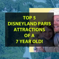 TOP 5 Disneyland Paris Attractions of a 7 year old!