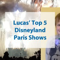 Lucas' Top 5 Disneyland Paris Shows