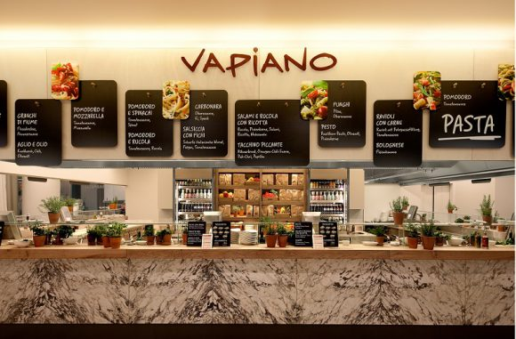 New Vapiano Italian Restaurant to Open in Disneyland Paris on July 1st
