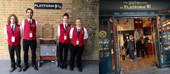 Platform 9 3/4 at London Kings Cross