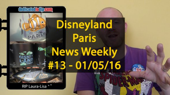Disneyland Paris News Weekly #13: Mickey and the Magician, Pins, Finding Dory, Winnie Pooh, Food