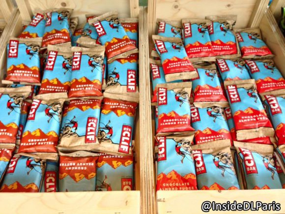Disneyland Paris Snacks: Peanut Butter Clif Bar