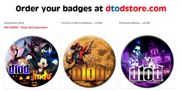 Order your badges at dtodstore.com