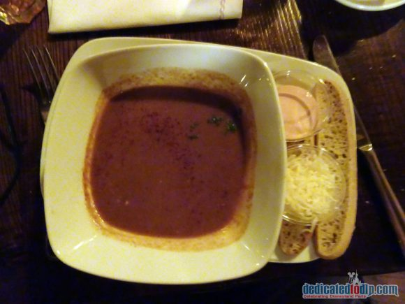 Disneyland Paris Restaurant Review: The Blue Lagoon - Fish and Shellfish Soup