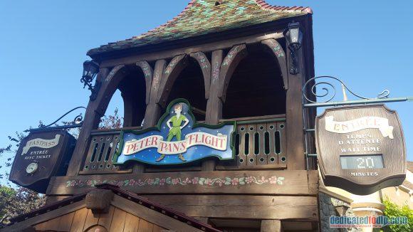 Peter Pan in Disneyland Paris