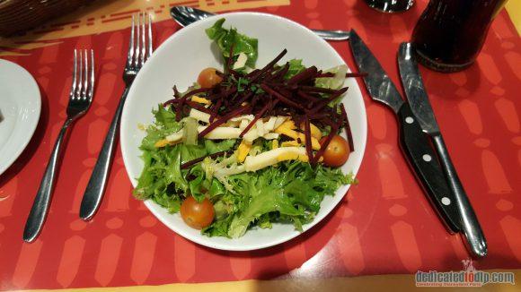 Disneyland Paris Restaurant Review: Bistrot Chez Rémy - Salad