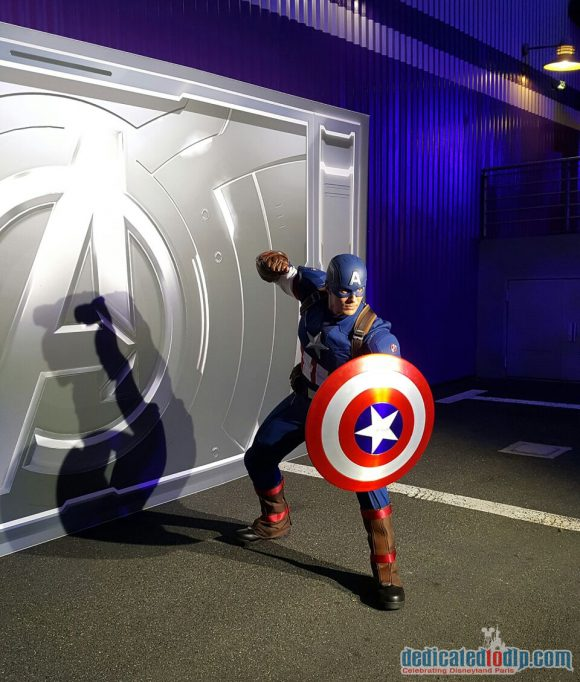 Disneyland Paris runDisney Diary Day 2 – Inaugural Party with Captain America