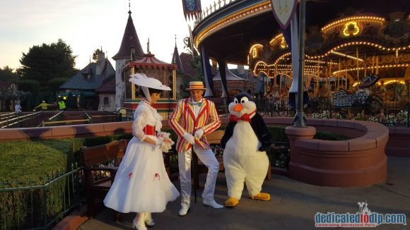 Disneyland Paris runDisney Diary Day 3 – The 5K Race with Bert, Mary and Penguin