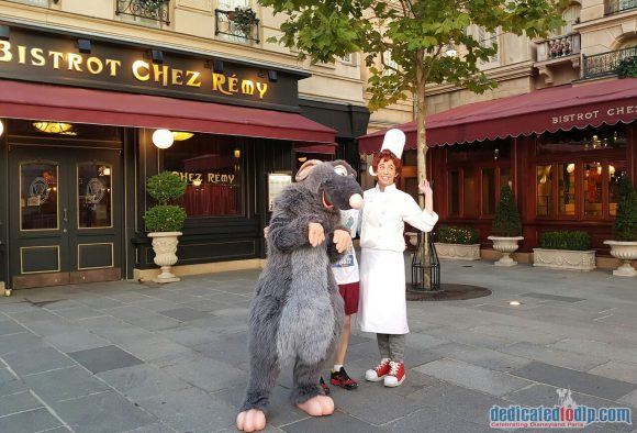 Disneyland Paris runDisney Diary Day 3 – The 5K Race with Remy and Linguini