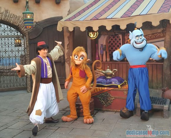 Disneyland Paris runDisney Diary Day 4 - The Half Marathon with Aladdin, Abu and Genie
