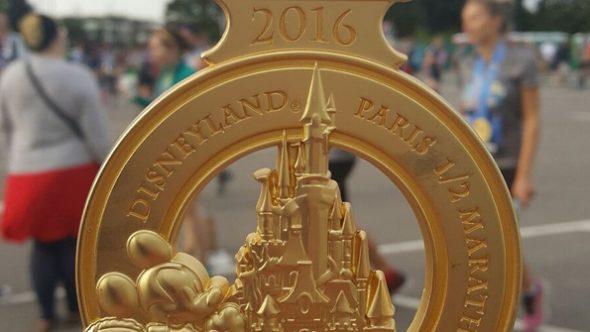 Disneyland Paris runDisney Diary Day 4 - The Half Marathon