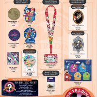 Disneyland Paris Pins For October 2016: Christmas, 2017, Dug Dog and Halloween At Last