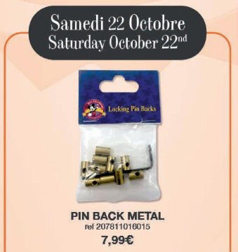 Disneyland Paris Pin Releases – October 22nd 2016