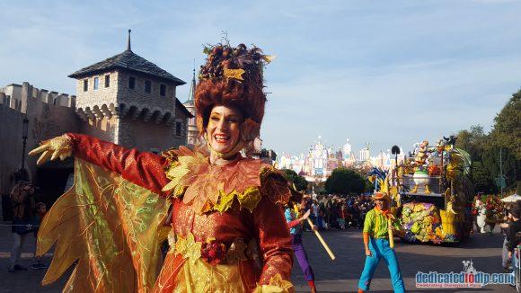 Disneyland Paris Halloween 2016: Cavalcade