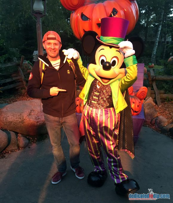 Disneyland Paris Halloween 2016: Characters