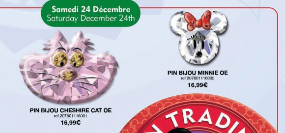 Disneyland Paris Pins For December 2016